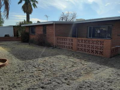 Tucson Single Family Home For Sale: 4220 E Timrod Street