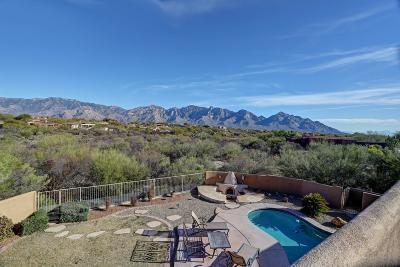 Oro Valley Single Family Home Active Contingent: 12628 N Copper Spring Trail