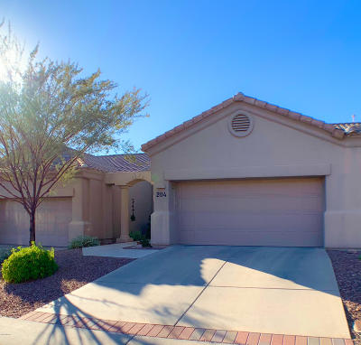 Oro Valley Townhouse Active Contingent: 13401 N Rancho Vistoso Boulevard #204