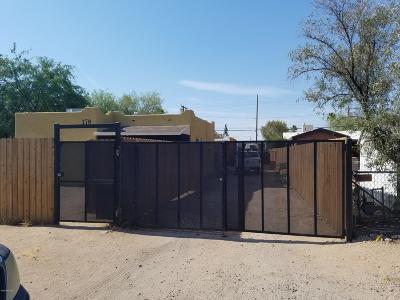 Tucson Single Family Home For Sale: 370 W President Street