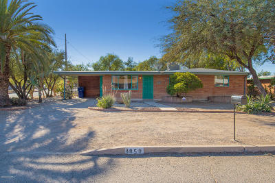 Tucson Single Family Home Active Contingent: 4850 E Waverly Street