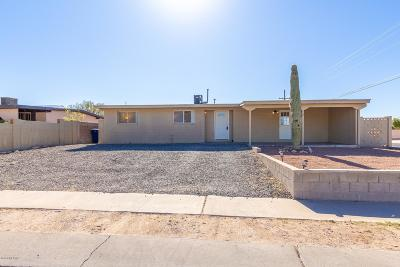 Tucson Single Family Home For Sale: 761 W Baffin Drive