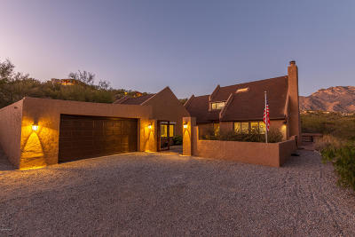 Tucson Single Family Home Active Contingent: 5795 E Paseo Cimarron