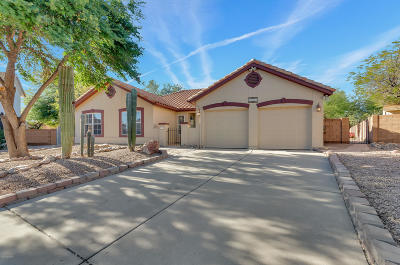 Tucson Single Family Home For Sale: 8191 N Brookshire Court