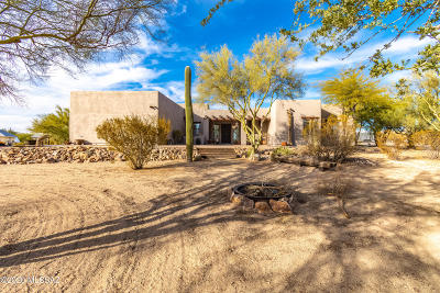 Tucson Single Family Home Active Contingent: 10550 N Decker Drive