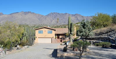 Tucson Single Family Home For Sale: 4579 N Paseo Bocoancos