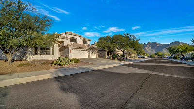 Oro Valley Single Family Home Active Contingent: 12324 N Echo Valley Drive
