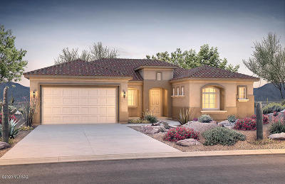 Marana Single Family Home For Sale: 7000 W Cliff Spring Trail