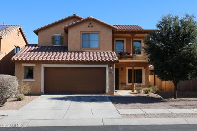 Sahuarita Single Family Home For Sale: 475 W Camino Tunera