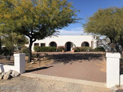 Oro Valley Single Family Home For Sale: 346 W Hardy Road