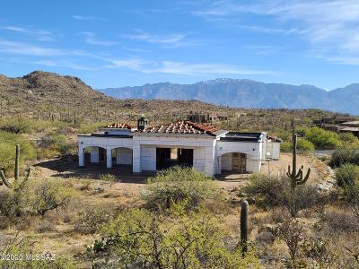 Oro Valley Single Family Home Active Contingent: 14665 N Granite Peak Place
