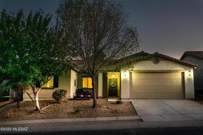 Sahuarita Single Family Home Active Contingent: 833 W Paseo Celestial