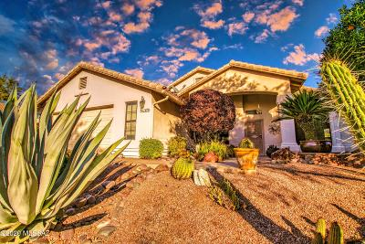 Oro Valley Single Family Home Active Contingent: 11670 N Europa Place