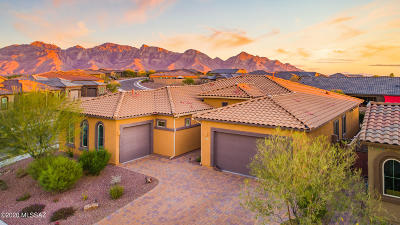 Oro Valley Single Family Home Active Contingent: 723 W Flying Ace Lane