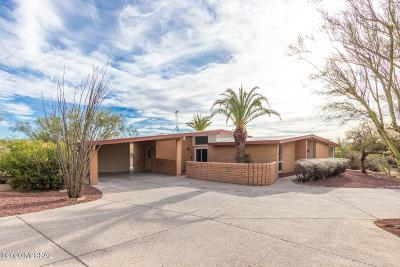 Tucson Single Family Home Active Contingent: 7762 N Camino De Maximillian