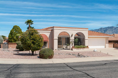 Oro Valley Single Family Home For Sale: 14550 N Crown Point Drive