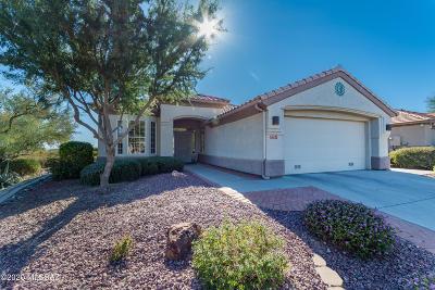 Marana Single Family Home Active Contingent: 5231 W Winding Desert Drive