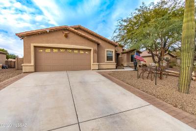 Marana Single Family Home Active Contingent: 12573 N Stone Pillar Drive
