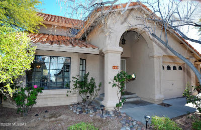 Oro Valley Single Family Home Active Contingent: 11680 N Dragoon Springs Drive