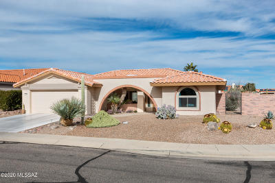 Oro Valley Single Family Home Active Contingent: 1055 E Coachwood Drive