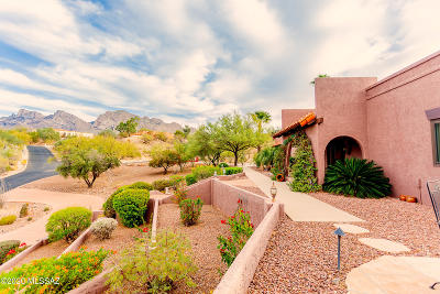 Oro Valley Single Family Home Active Contingent: 635 W Atua Place