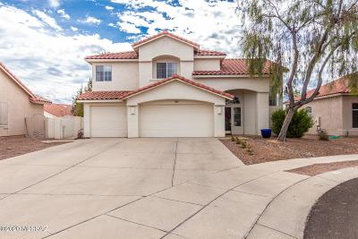 Oro Valley Single Family Home For Sale: 1385 W Valley Ridge Place