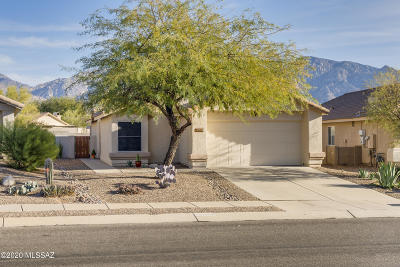 Oro Valley Single Family Home Active Contingent: 13224 N Classic Overlook Court