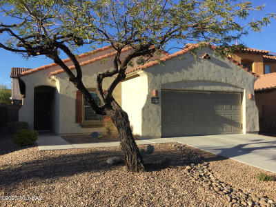 Sahuarita Single Family Home Active Contingent: 14388 S Via Gualda