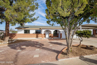 Tucson Single Family Home For Sale: 6341 E Calle Osito