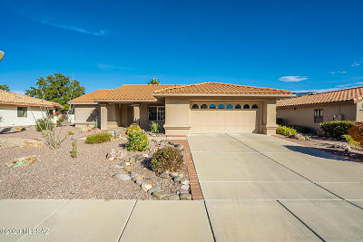 Oro Valley Single Family Home Active Contingent: 14650 N Flagstone Drive