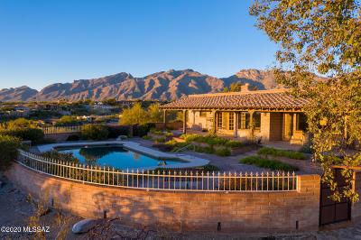 Tucson Single Family Home Active Contingent: 5980 E Avenida Arriba