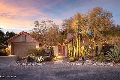 Tucson Single Family Home Active Contingent: 5781 N Placita Amanecer