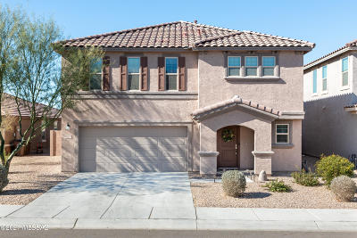 Marana Single Family Home Active Contingent: 12289 N Old Mill Place