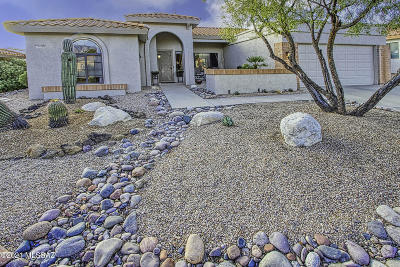 Oro Valley Single Family Home Active Contingent: 14401 N Alamo Canyon Drive