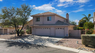 Oro Valley Single Family Home For Sale: 10835 N Glen Abbey Drive