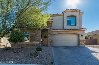 Marana Single Family Home Active Contingent: 8789 W Saguaro Moon Road