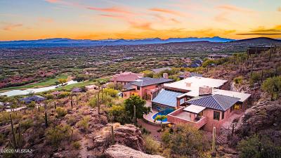 Tucson Single Family Home For Sale: 6600 N Eagle Ridge Drive