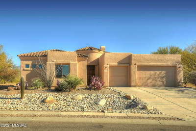 Tucson Single Family Home Active Contingent: 12658 N Yellow Bird Road