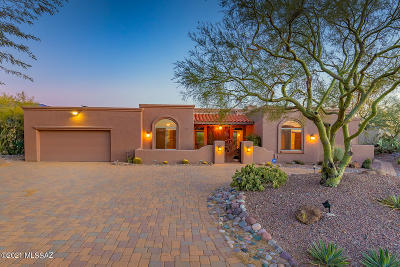 Oro Valley Single Family Home Active Contingent: 13784 N Placita Meseta De Oro