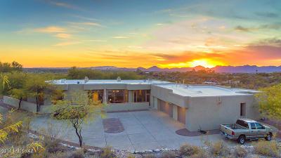 Tucson Single Family Home For Sale: 4635 N Placita Roca Blanca