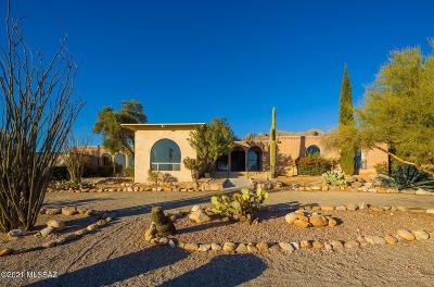 Tucson Single Family Home Active Contingent: 1505 E Moonridge Road