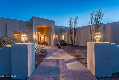 Tucson Single Family Home Active Contingent: 12570 E Speedway Boulevard