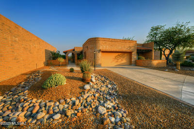 Tucson Single Family Home For Sale: 6660 E Valle Di Cadore