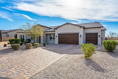 Tucson Single Family Home For Sale: 9386 E Spur Crossing