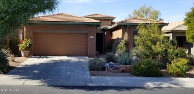 Tucson Single Family Home Active Contingent: 8431 N Shadow Wash Way