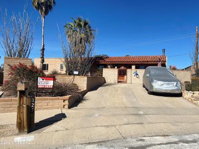 Tucson Single Family Home For Sale: 3216 S Winona Circle