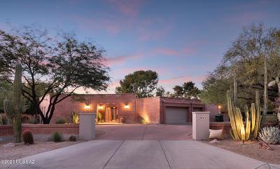 Tucson Single Family Home For Sale: 2845 N Santa Ynez Place