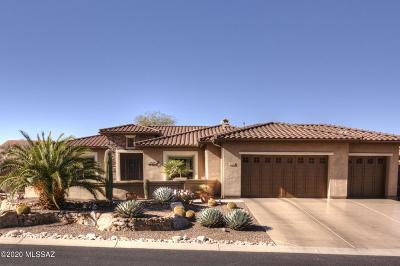 Tucson Single Family Home Active Contingent: 36366 S Desert Sun Drive