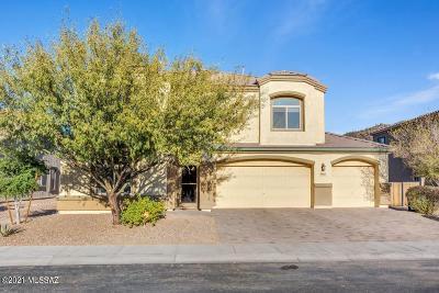 Marana Single Family Home Active Contingent: 9788 N Saguaro Breeze Way