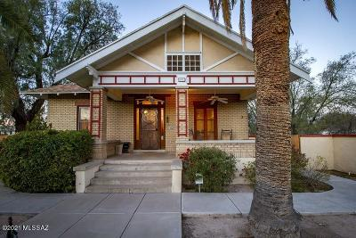 Tucson Single Family Home For Sale: 631 N 5th Avenue